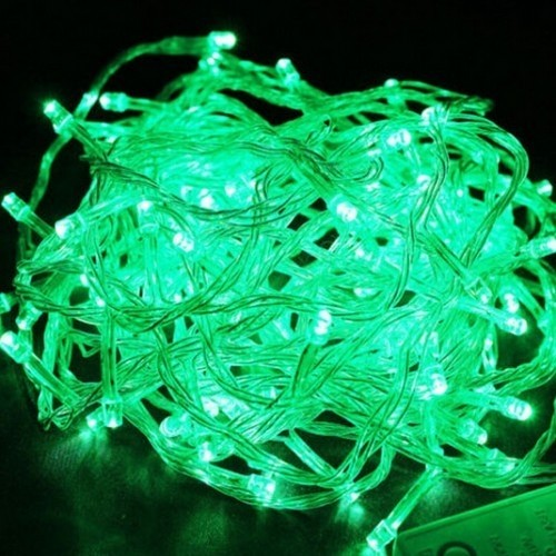 10m 100 LEDs Fairy Light Green String Lights for Tree Decoration