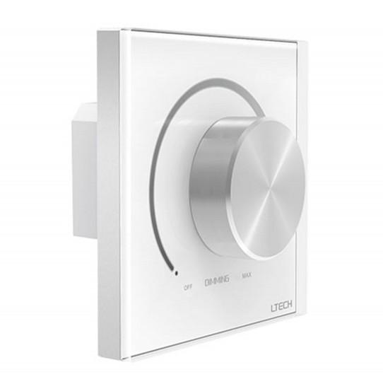 LTECH E6-DA1 Switch Wall Mount Knob Panel DALI Dimmer Controller