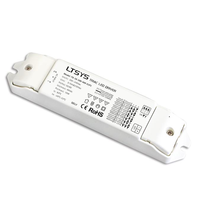 LTECH CC Triac Driver 10W 100-400mA Controller TD-10-100-400-E1P1