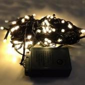 Warm White LED Bullet String Lights For Christmas Tree 10m 100Leds