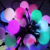 12V 50mm WS2811 RGB 5050 LED Point Ball Light 360 Degrees Emitting