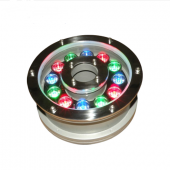 12W Aluminum LED fountain Lamp IP68 Underwater Swimming Pool light 12V/24V Pond Lighting