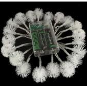 2M 20LEDs String Lamps Battery Snowball LED Fairy Lights