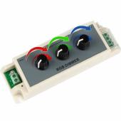 3A LED RGB Dimmer DC12-24V LED Dimmer Controller
