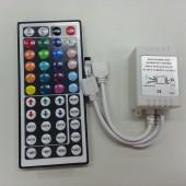 44 Keys IR Remote Control RGB LED Controller 12V 24V