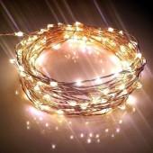 4M 40LEDs String Light AA Battery Wedding Holiday Fairy 2pcs