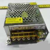 60W DC12V 5A Metal Case Power Supply AC to DC Converter