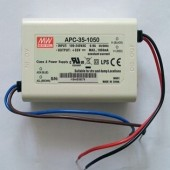 APC-35 Series Mean Well 35W Single Output LED Power Supply