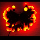 Red Ball Shaped Xmas LED Light 5M 50LEDs Fairy Decorate Lights