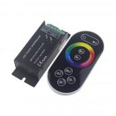 Leynew Remote Control RF Wireless Touch RGB LED Controller LN-CON-TRF8B(T)-3CH-LV