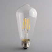 E27 4W 6W 8W Classical Led Filament Bulb Edison Warm White Lamp Light