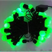 Green Christmas Tree Light 5M 50 LEDs Ball Shaped Fairy Lights