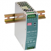 EDR-120 120W Mean Well Single Output Industrial DIN RAIL Power Supply