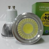 New COB 6W GU10 Dimmable LED Spotlights 120 Angle Led Lamp