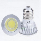New COB 6W E27 Dimmable LED Spotlights 120 Angle Led Lamp