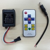 RF SP101E RGB LED Controller For WS2811 WS2812 Pixel Lights